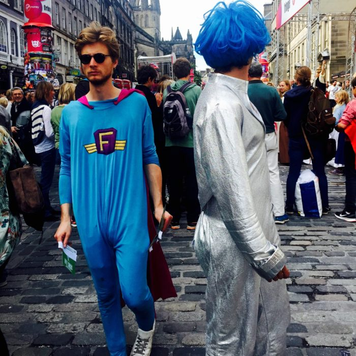 Edinburgh Fringe aliens