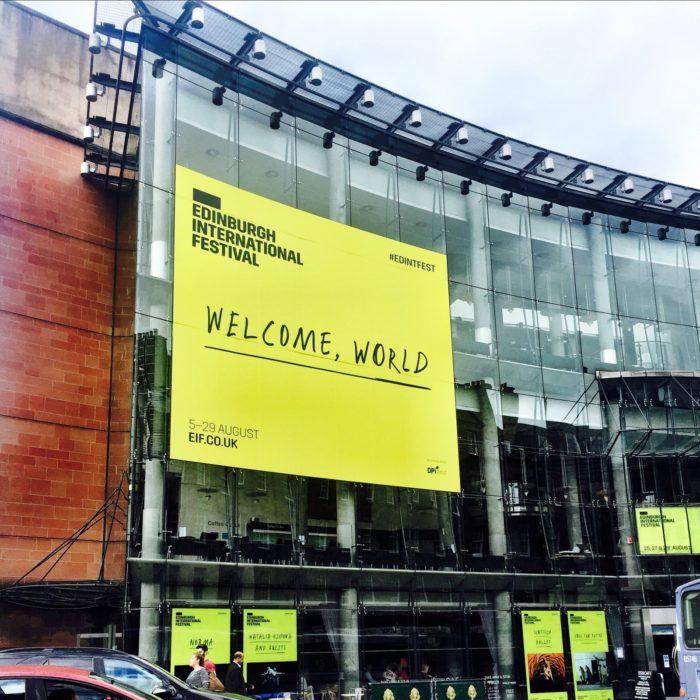 Edinburgh Fringe welcome