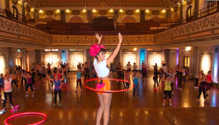 Marawa hula hoop