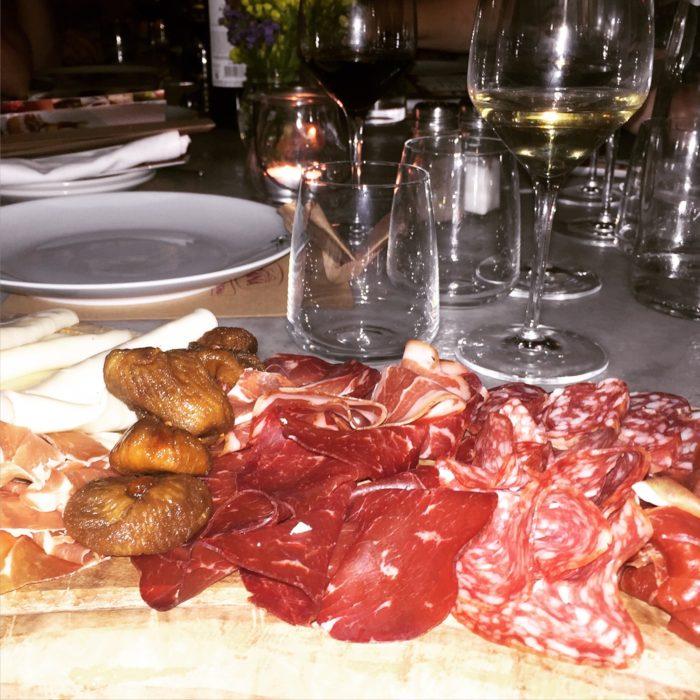 Ciao Gusto Dinner Giovanni Rana antipasti