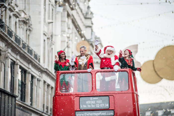 Hamleys Christmas parade
