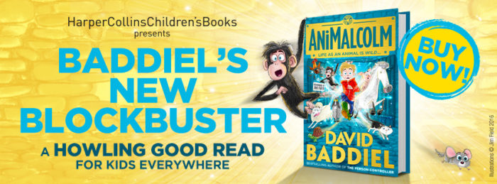 AniMalcolm David Baddiel Blockbuster