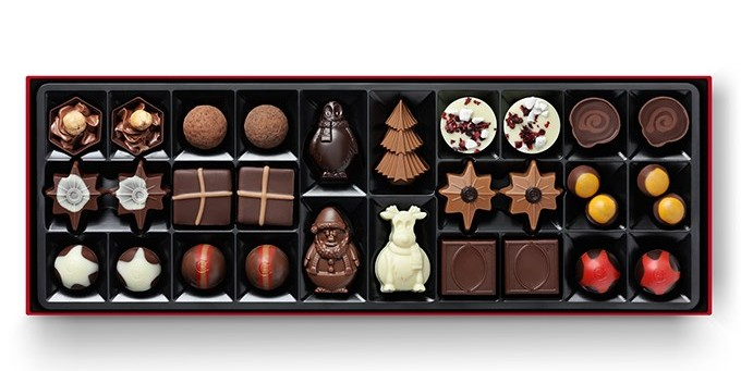 Hotel Chocolat Christmas sleekster box