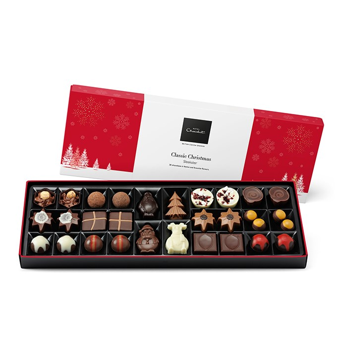 Hotel Chocolat Christmas Sleekster