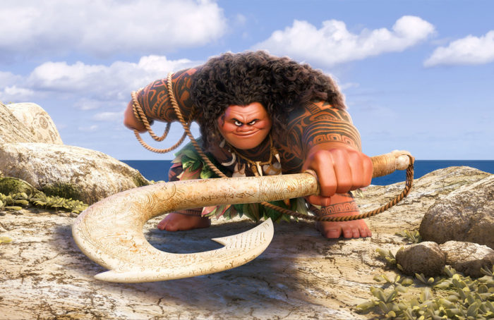 Moana demi-god Maui