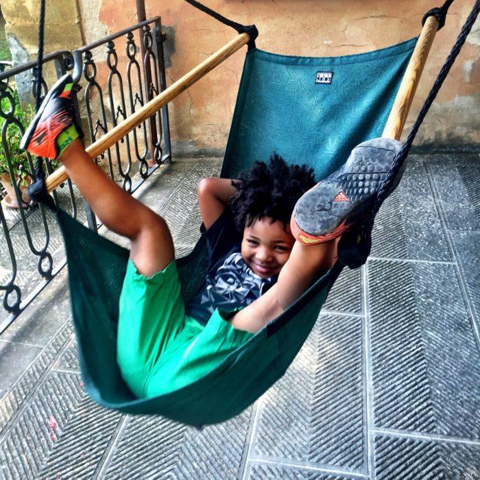 Villa Pia Jed in hammock