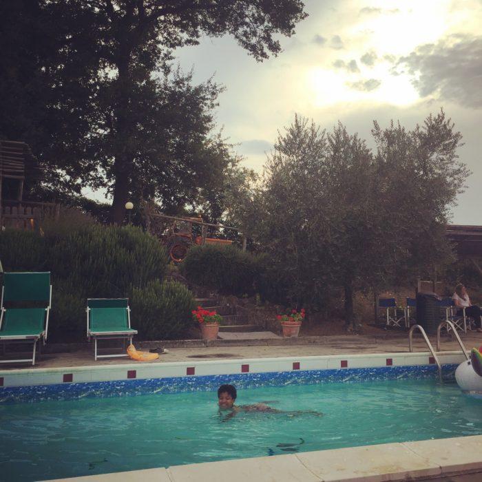 Villa Pia kids swimming pool