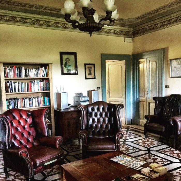 Villa Pia interiors