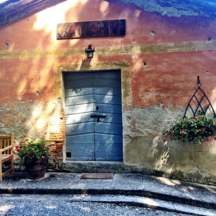 Villa Pia exterior