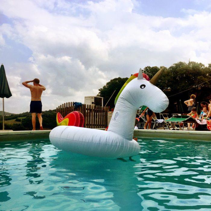 Villa Pia pool toys