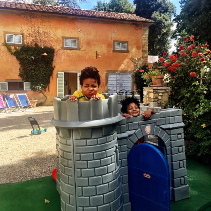 Villa Pia play area