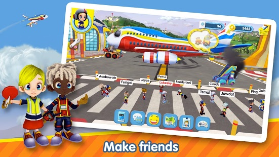 Airside Andy  kids MMO