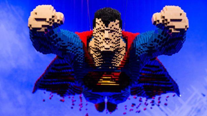 Art of the Brick DC Super Heroes