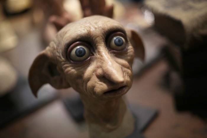 Directing Dobby at Warner Bros Studio Tour