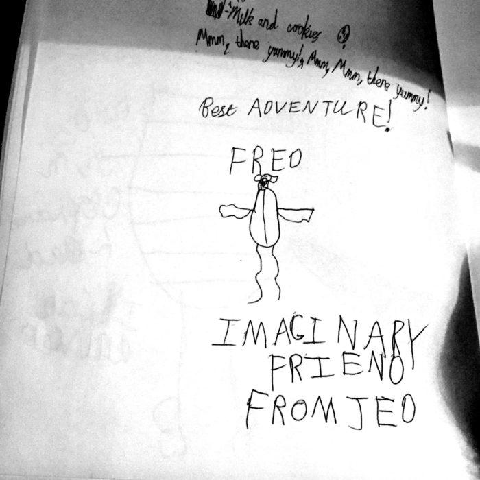 Moomins illustration Imaginary Friend