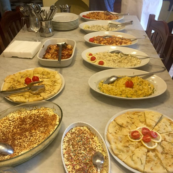 Villa Pia Italian cookery class