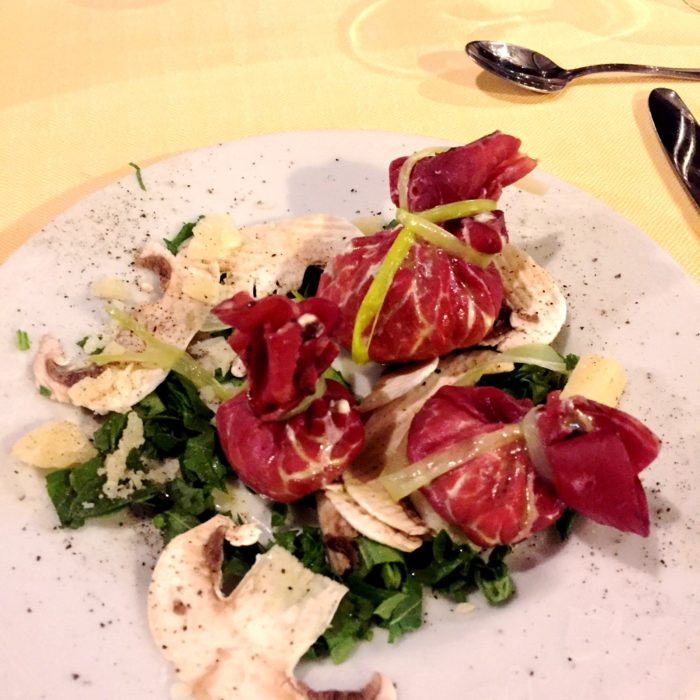 Villa Pia dinner dish