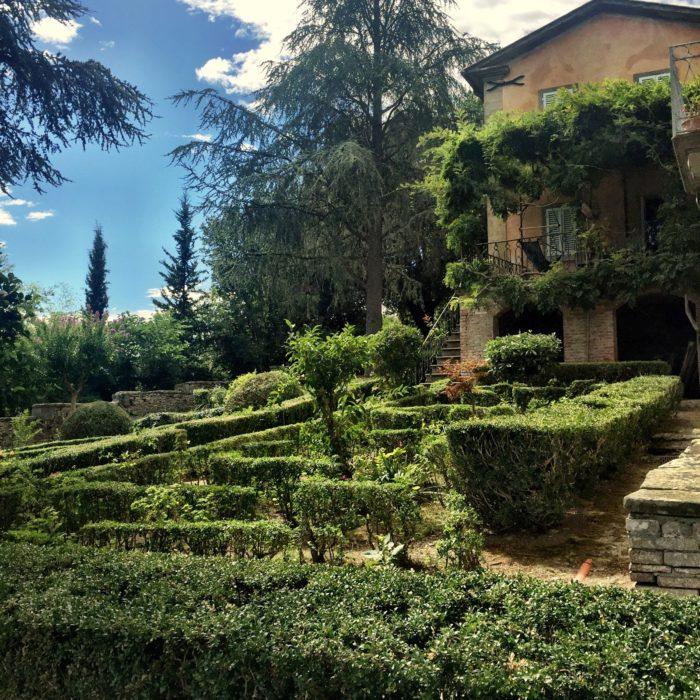 Villa Pia garden