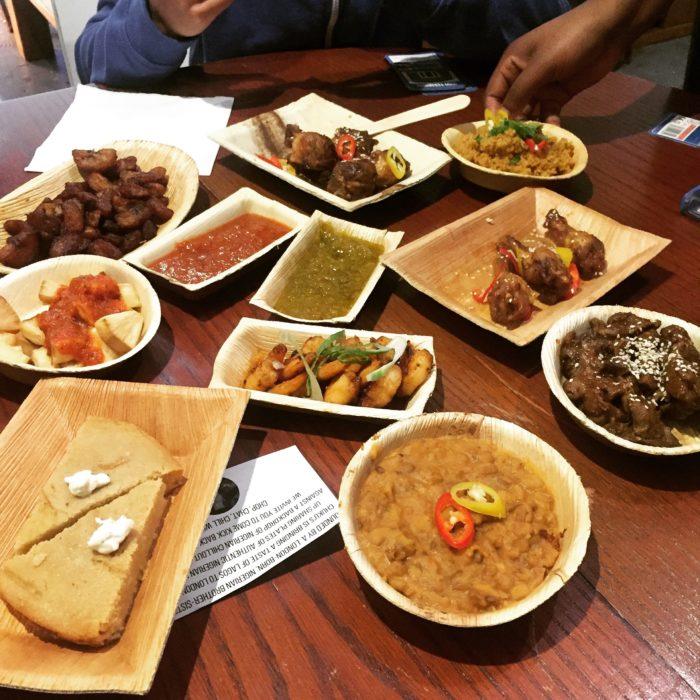 Chukus Nigerian tapas
