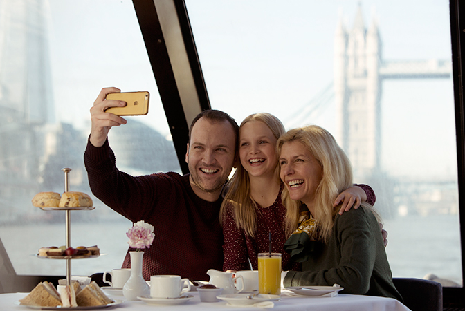 City Cruises Afternoon Tea family ticket