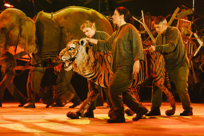 Michael Morpurgo Running Wild at Hackney Empire