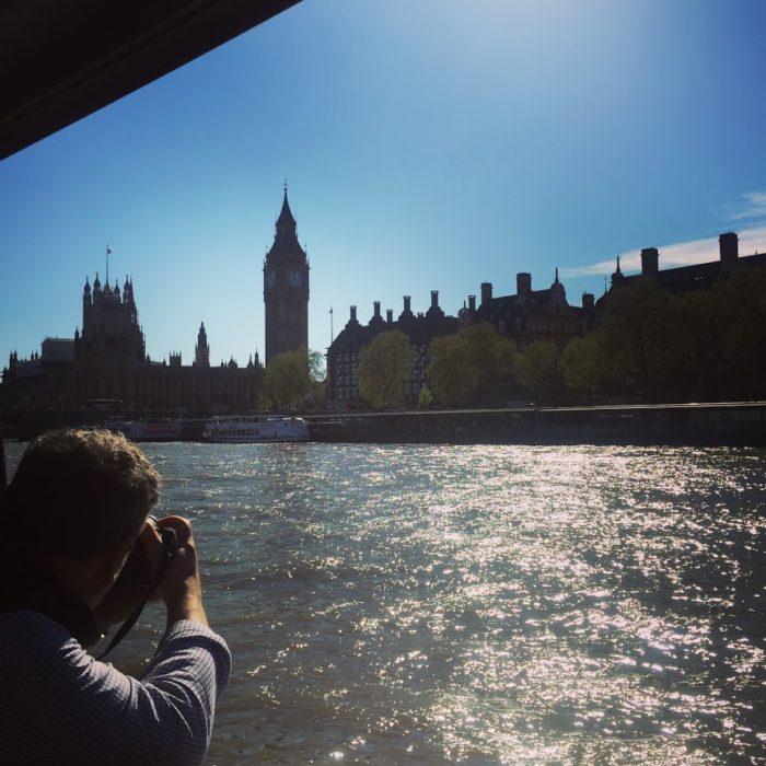 City Cruises afternoon tea tour Big Ben