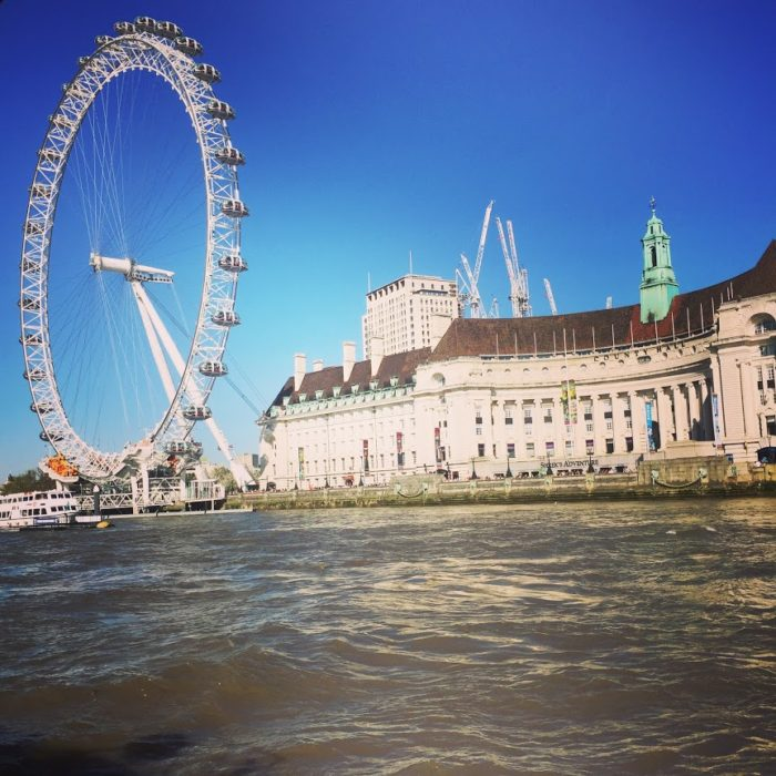 City Cruises afternoon tea tour London Eye