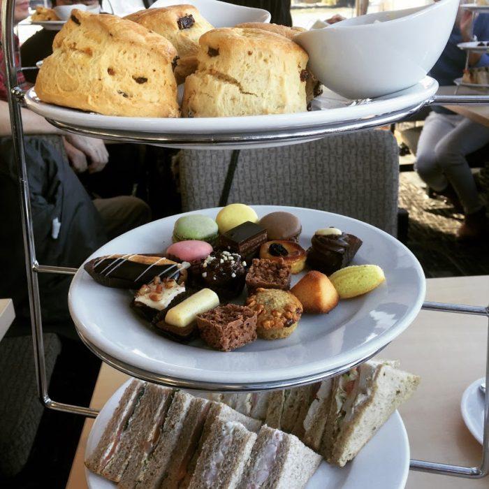 City Cruises afternoon tea tour scones