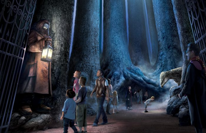Forbidden Forest Warner Bros Harry Potter tour