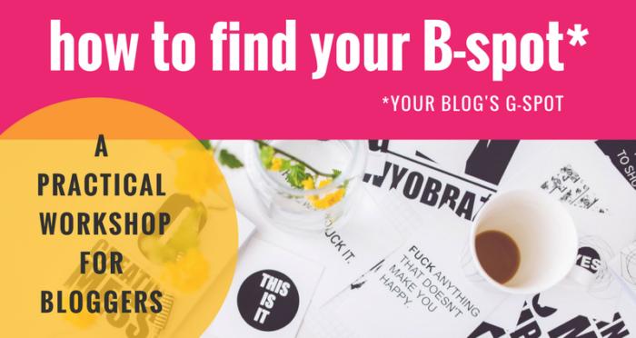 Blogging Workshop Header