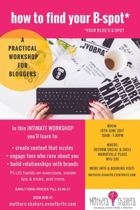 MaSh B-Spot Blogging Workshop