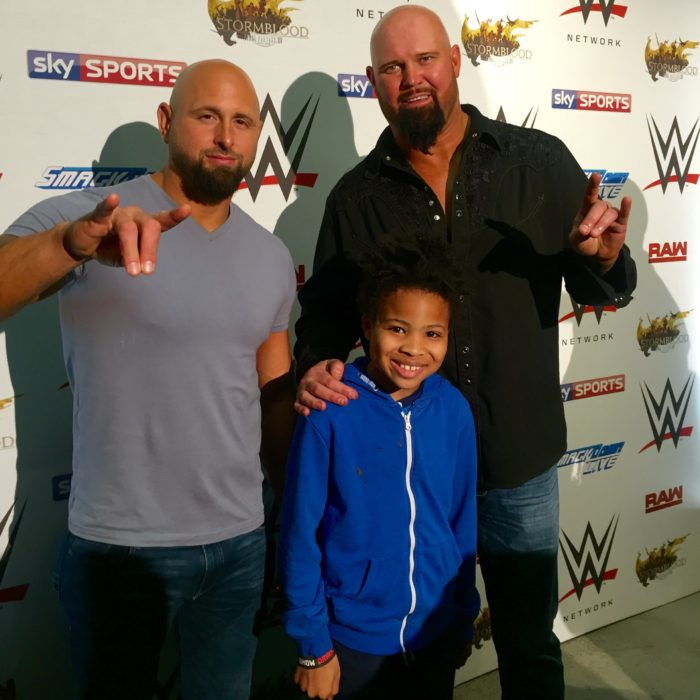 WWE RAW Luke Gallows and Karl Anderson