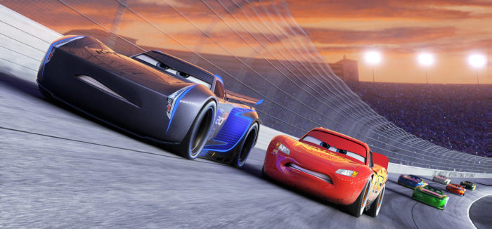 Cars 3 Lightning vs Jackson