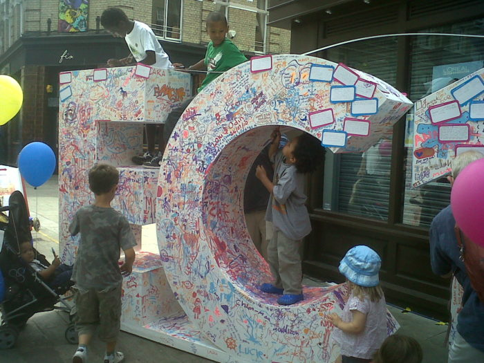 Whitecross St Party 2010