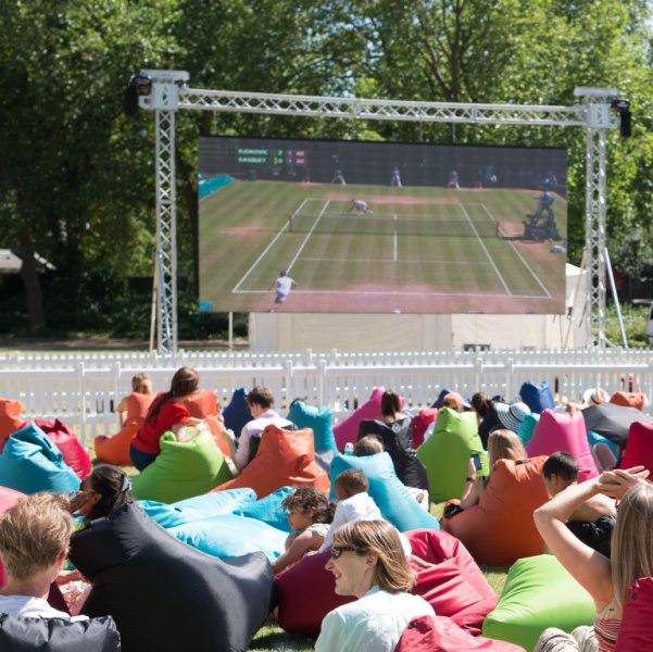 Wimbledon outdoor screenings