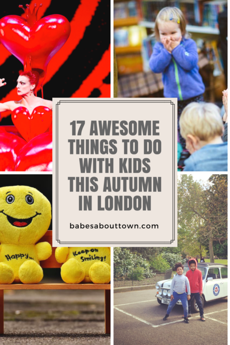 17 awesome things to do with kids this autumn in london