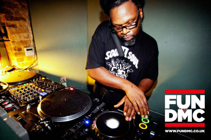 Jazzie B at Fun DMC