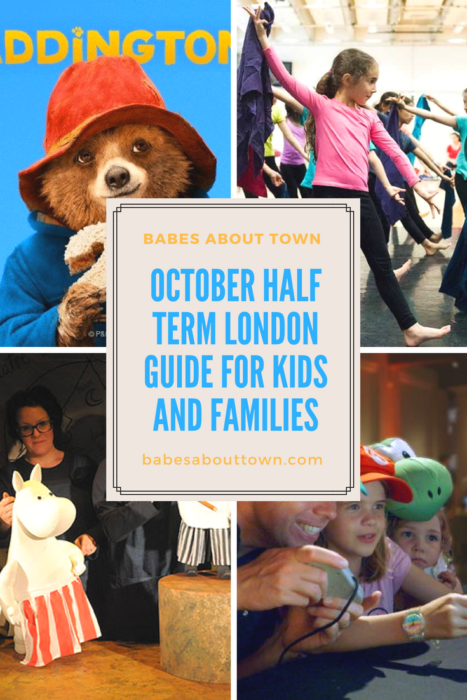October half term kids 2017