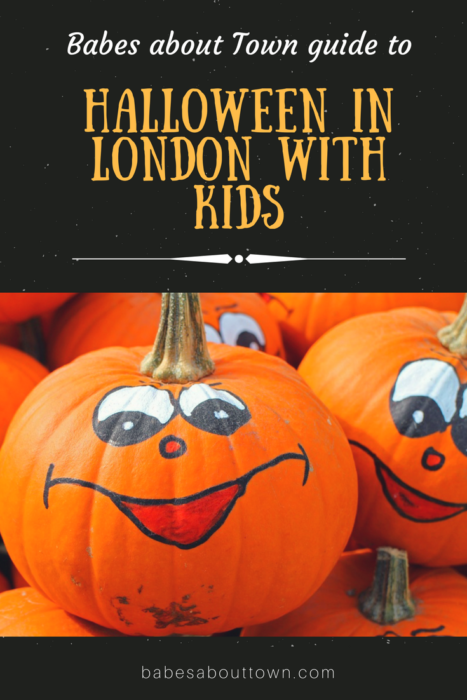 Halloween in London with kids 2017
