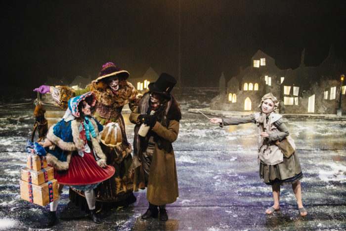 The Little Match Girl Christmas theatre