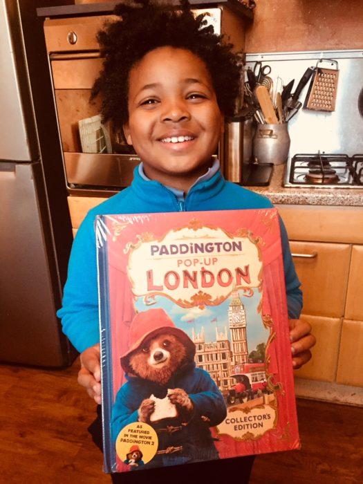 Paddington pop up London book