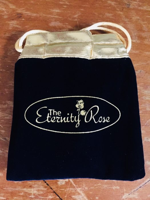 Eternity Rose gift pouch