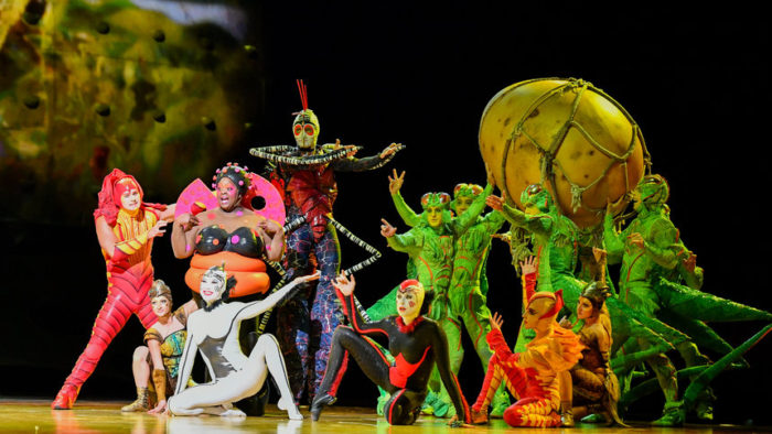Cirque du Soleil Ovo at Royal Albert Hall