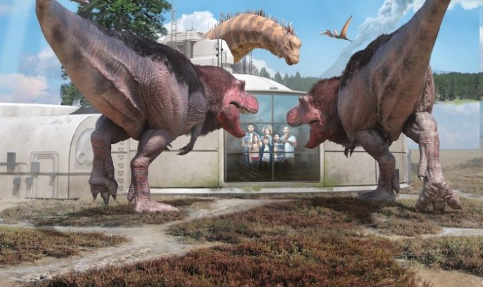 Dinosaurs in the Wild - Easter in London
