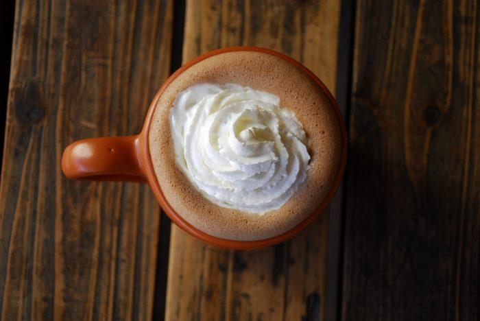 London hot chocolate wood backdrop