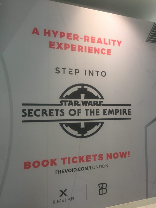 Star Wars Secrets of the Empire hyperreality