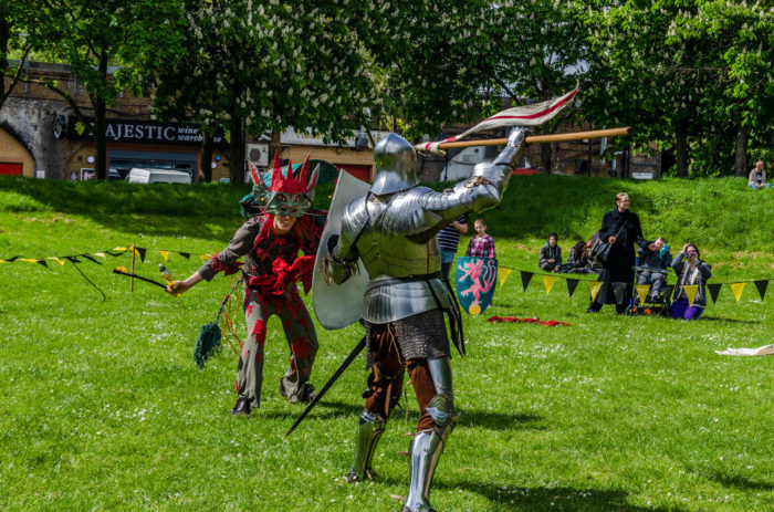 St George's Day at Vauxhall Pleasure Gardens