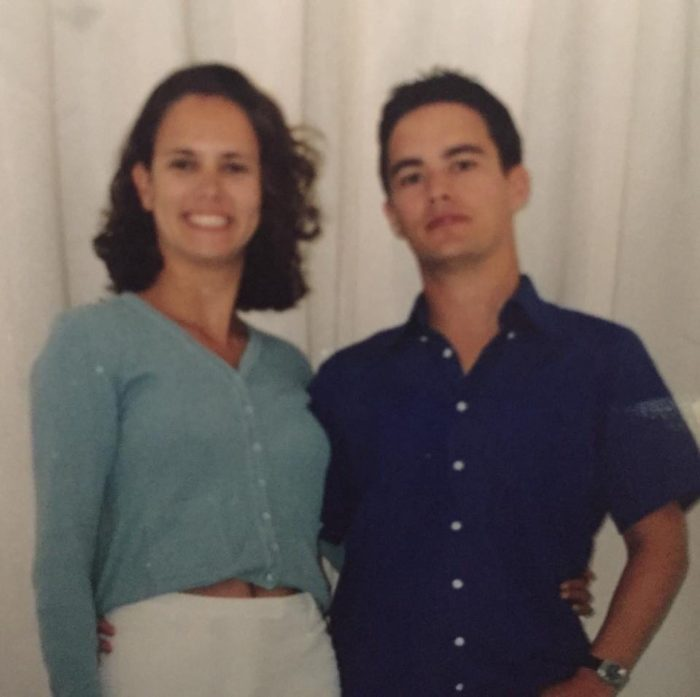 Lookalike Couples Jo and Gavin younger