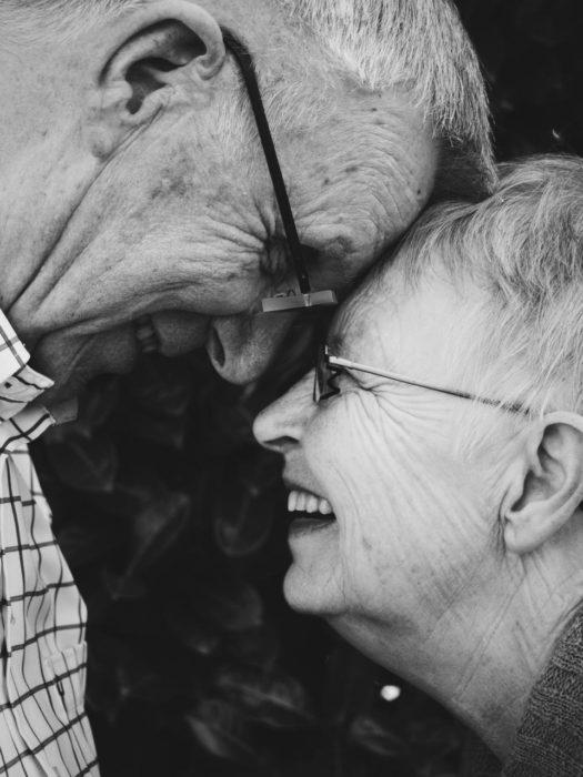 Lookalike Couples elderly