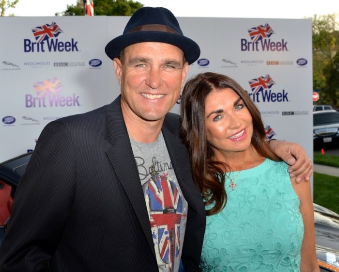 Celebrity Lookalike Couples Vinnie Jones and wife Tanya